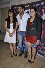 Shree Rajput, Ashutosh Kaushik, Meera at the Pre release party of the film Bhadaas in Mumbai on 24th June 2013 (29).JPG