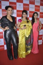 Neha Dhupia, Mahima Chaudhry, Yami Gautam at the Grand Jury Meet for 9th Retail Jeweller India Awards in Trident BKC, Mumbai on 25th June 2013 (33).JPG