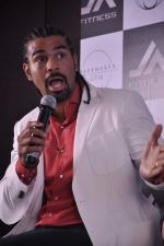 David Haye at the press conference announcing fitness Franchise in Escobar, Bandra, Mumbai on 26th June 2013 (61).JPG
