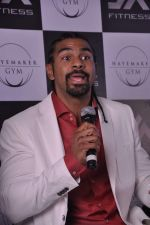 David Haye at the press conference announcing fitness Franchise in Escobar, Bandra, Mumbai on 26th June 2013 (68).JPG