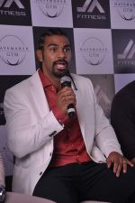 David Haye at the press conference announcing fitness Franchise in Escobar, Bandra, Mumbai on 26th June 2013 (69).JPG