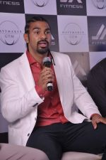 David Haye at the press conference announcing fitness Franchise in Escobar, Bandra, Mumbai on 26th June 2013 (71).JPG