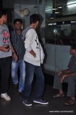 Aryan Khan snapped at airport in Mumbai on 27th June 2013 (3).JPG