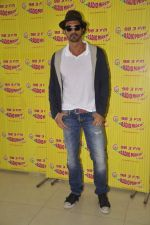 Arjun Rampal at D-day promotions at Radio Mirchi in Lower Parel, Mumbai on 29th June 2013 (13).JPG