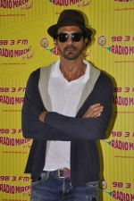 Arjun Rampal at D-day promotions at Radio Mirchi in Lower Parel, Mumbai on 29th June 2013 (15).JPG