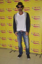 Arjun Rampal at D-day promotions at Radio Mirchi in Lower Parel, Mumbai on 29th June 2013 (12).JPG
