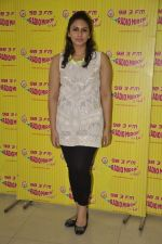 Huma Qureshi at D-day promotions at Radio Mirchi in Lower Parel, Mumbai on 29th June 2013 (12).JPG