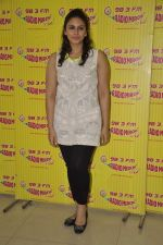 Huma Qureshi at D-day promotions at Radio Mirchi in Lower Parel, Mumbai on 29th June 2013 (13).JPG