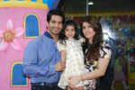 Amit Tandon & Dr. Ruby Tandon with Daughter Jiyana Tandon at Dr. Ruby Tandon_s daughter Jiyana Tandon_s 3rd birthday in Mumbai on 30th June 2013 (2).JPG