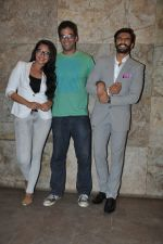 Sonakshi Sinha, Ranveer Singh at Special screening of Lootera by Sonakshi Sinha in Lightbox, Mumbai on 30th June 2013 (69).JPG