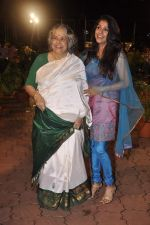 Bhavana Balsaver, Shubha Khote at Ramesh Deo_s 50th wedding anniversary in Isckon, Mumbai on 1st July 2013 (72).JPG