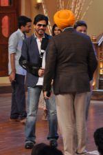 Shahrukh Khan promote Chennai Express on Comedy Circus in Mumbai on 1st July 2013 (31).JPG