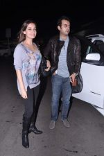 Dia Mirza leave for IIFA Awards 2013 in Mumbai on 3rd July 2013 (24).JPG