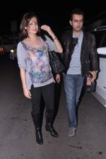 Dia Mirza leave for IIFA Awards 2013 in Mumbai on 3rd July 2013 (27).JPG