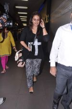 Huma Qureshi leave for IIFA Awards 2013 in Mumbai on 3rd July 2013 (13).JPG