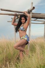Veena Malik at the shooting of her upcoming Kannada movie Silk Sakkath Maga song in Thailand (10).jpg