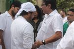 Sajid at Sajid Wajid Dad_s funeral in Mumbai on 4th July 2013 (89).JPG