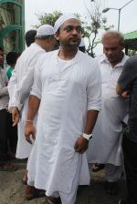 Sajid at Sajid Wajid Dad_s funeral in Mumbai on 4th July 2013 (93).JPG