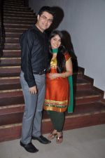 Nishad Vaidya, Chandni Bhagwanani on the sets of Amita Ka Amit in Mumbai on 6th July 2013 (79).JPG