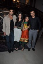 Nishad Vaidya, Chandni Bhagwanani, Prateik Babbar, Amyra Dastur promote Issaq on the sets of Amita Ka Amit in Mumbai on 6th July 2013 (81).JPG