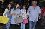 Sridevi, Boney Kapoor, Jhanvi Kapoor, Khushi Kapoor returns from IIFA in Airport, Mumbai on 9th July 2013 (14).JPG