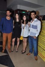 Keith Sequeira, Izabelle Leite, Mehak Manwani at Sixteen film premiere in Mumbai on 10th July 2013 (108).JPG