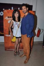 Keith Sequeira, Mehak Manwani at Sixteen film premiere in Mumbai on 10th July 2013 (13).JPG