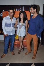 Keith Sequeira, Mehak Manwani at Sixteen film premiere in Mumbai on 10th July 2013 (67).JPG