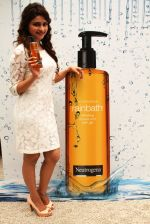 Prachi Desai, Bollywood Actress at the launch of Neutrogena Rainbath Shower gel.JPG