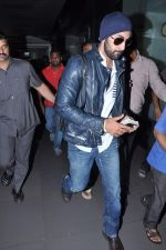 Ranbir Kapoor snapped at airport in Mumbai on 10th July 2013 (17).JPG