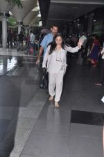 Tina Ambani snapped at airport in Mumbai on 10th July 2013 (9).JPG