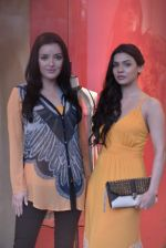 Sarah Loren,Kristina Akheeva at the launch of Ritu Kumar Label monsoon collection in Lower Parel, Mumbai on 11th July 2013 (53).JPG