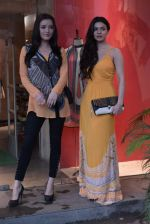Sarah Loren,Kristina Akheeva at the launch of Ritu Kumar Label monsoon collection in Lower Parel, Mumbai on 11th July 2013 (63).JPG