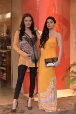 Sarah Loren,Kristina Akheeva at the launch of Ritu Kumar Label monsoon collection in Lower Parel, Mumbai on 11th July 2013 (65).JPG