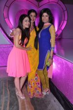 Vindhya Tiwary, Dimple Jhangiani  at Colors launch  Pammi Pyarelal show in BKC, Mumbai on 11th July 2013 (30).JPG