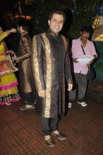 Abhinav Kohli at Shweta Tiwari_s sangeet in Sheesha Lounge, Mumbai on 12th July 2013 (11).JPG