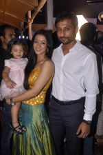 Barkha Bisht, Indraneil Sengupta at Shweta Tiwari_s sangeet in Sheesha Lounge, Mumbai on 12th July 2013 (73).JPG