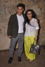 Aamir Khan, Rani Mukherjee at  Aamir Khan_s screening of Ship of Theseus followed by katrina_s birthday celebrations on 16th July 2013 (132).JPG