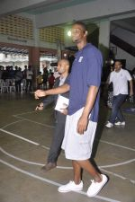 Chris Bosh at NBA Cares Clinic and Eliter Clinic in Don Bosco School, Matunga on 18th July 2013 (60).JPG