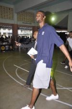 Chris Bosh at NBA Cares Clinic and Eliter Clinic in Don Bosco School, Matunga on 18th July 2013 (61).JPG