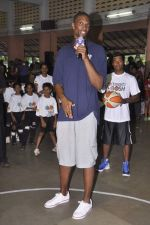 Chris Bosh at NBA Cares Clinic and Eliter Clinic in Don Bosco School, Matunga on 18th July 2013 (63).JPG