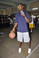 Chris Bosh at NBA Cares Clinic and Eliter Clinic in Don Bosco School, Matunga on 18th July 2013 (71).JPG