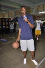 Chris Bosh at NBA Cares Clinic and Eliter Clinic in Don Bosco School, Matunga on 18th July 2013 (73).JPG