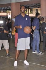 Chris Bosh at NBA Cares Clinic and Eliter Clinic in Don Bosco School, Matunga on 18th July 2013 (79).JPG