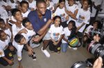Chris Bosh at NBA Cares Clinic and Eliter Clinic in Don Bosco School, Matunga on 18th July 2013 (83).JPG