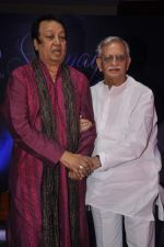 Gulzar launches Bhupinder Mitali_s album in Novotel, Mumbai on 16th July 2013 (60).JPG