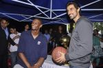 Kunal Kapoor,Chris Bosh at NBA Cares Clinic and Eliter Clinic in Don Bosco School, Matunga on 18th July 2013 (51).JPG