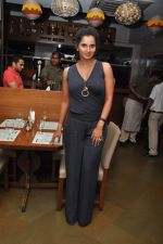 Sania Mirza at Woodside Beer Burger fest in Andheri, Mumbai on 16th July 2013 (30).JPG