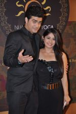 Chandni Bhagwanani, Nishad Vaidya at Gold TV awards red carpet in Mumbai on 20th July 2013 (87).JPG