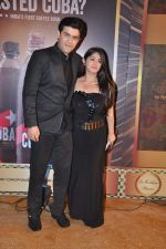 Chandni Bhagwanani, Nishad Vaidya at Gold TV awards red carpet in Mumbai on 20th July 2013 (88).JPG